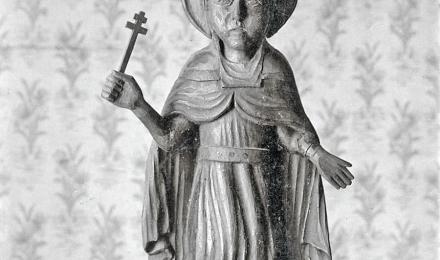 Резной образ великомученицы Параскевы Пятницы