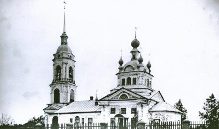 28-Галичский-уезд-Храмки-погост-Смоленская-церковь-1821