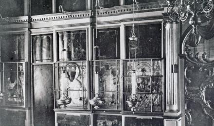 05-Галич-Паисиев-монастырь-Фрагмент-иконостаса-Успенского-собора