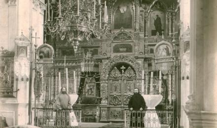 Иконостас-зимнего-Богоявленского-собора